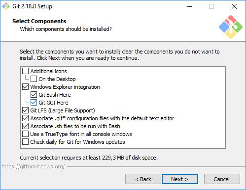 git gui installer windows